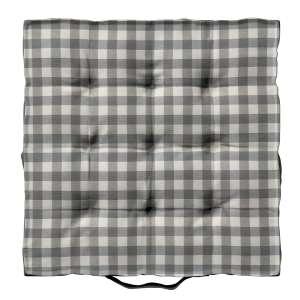 Pagalvėlė Kuba kėdei/ant grindų 40 x 40 x 6 cm kolekcijoje Quadro, audinys: 136-11
