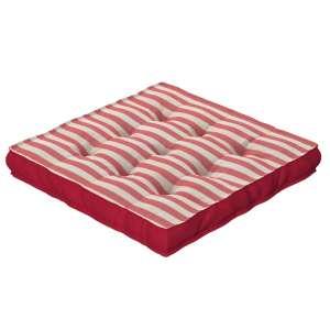 Sitzkissen Jacob mit Handgriff 40 x 40 x 6 cm von der Kollektion Quadro, Stoff: 136-17