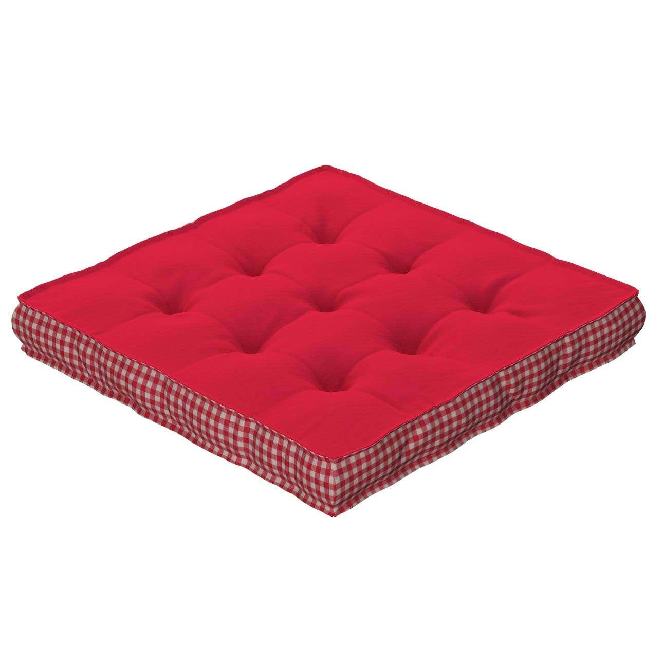 Siedzisko Kuba na krzesło 40x40x6cm w kolekcji Quadro, tkanina: 136-19