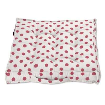 Pagalvėlė Kuba kėdei/ant grindų 137-70 Raudoni apskritimai šviesiame fone Kolekcija Little World