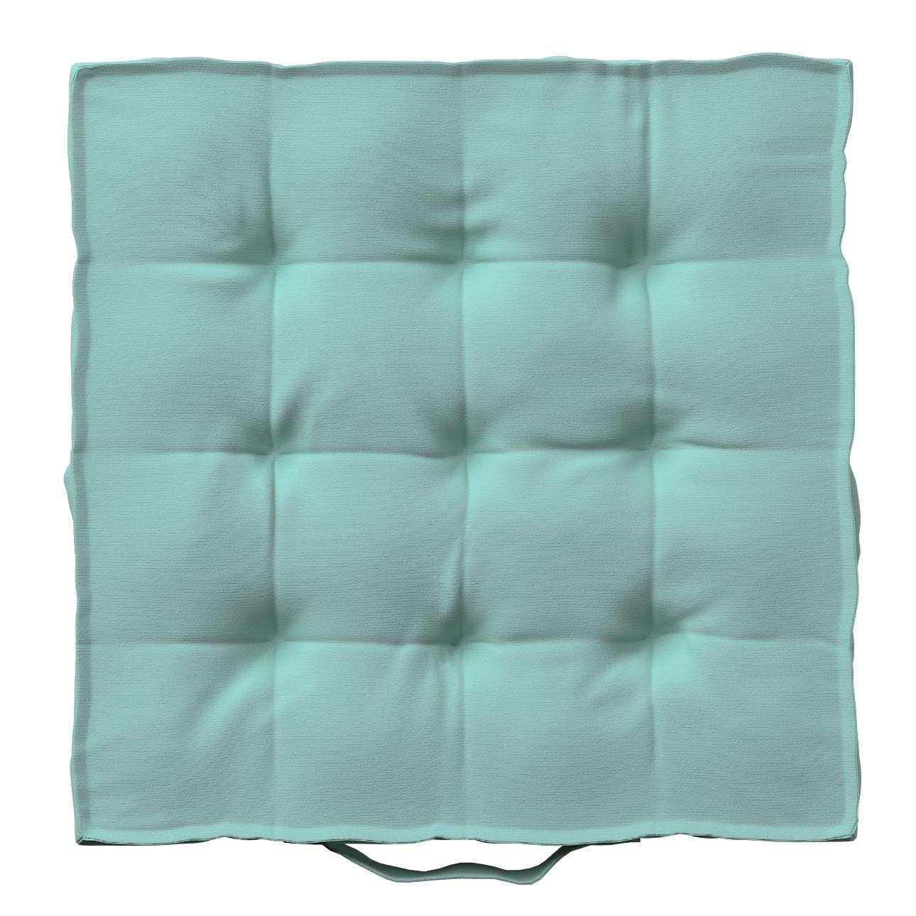Pagalvėlė Kuba kėdei/ant grindų 40 x 40 x 6 cm kolekcijoje Loneta , audinys: 133-32
