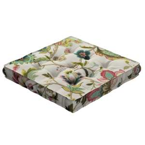 Pagalvėlė Kuba kėdei/ant grindų 40 x 40 x 6 cm kolekcijoje Londres, audinys: 122-00