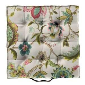 Siedzisko Kuba na krzesło 40x40x6cm w kolekcji Londres, tkanina: 122-00