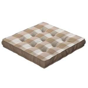Siedzisko Kuba na krzesło 40x40x6cm w kolekcji Quadro, tkanina: 136-08