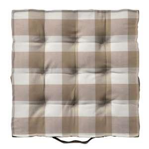 Pagalvėlė Kuba kėdei/ant grindų 40 x 40 x 6 cm kolekcijoje Quadro, audinys: 136-08