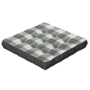 Pagalvėlė Kuba kėdei/ant grindų 40 x 40 x 6 cm kolekcijoje Quadro, audinys: 136-13