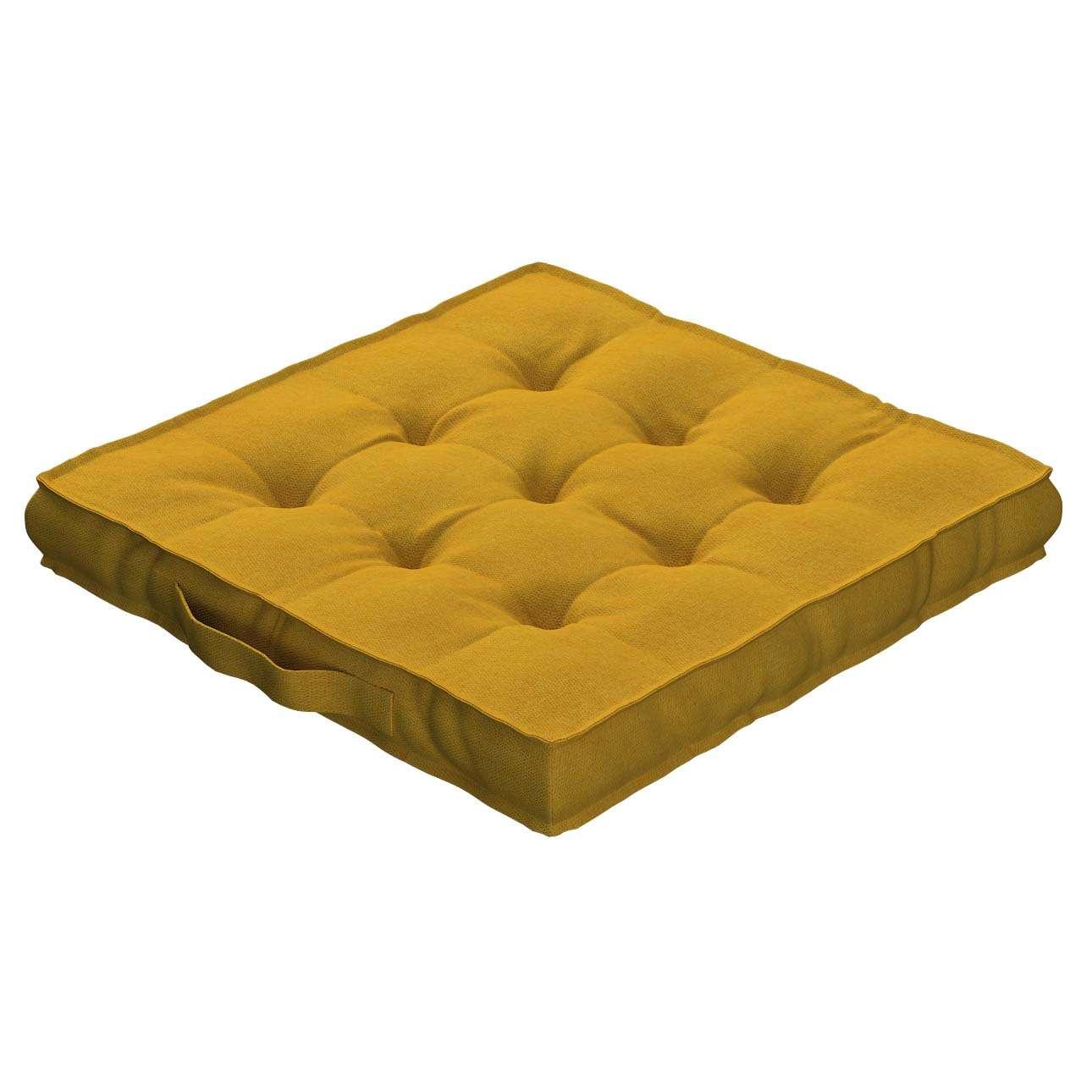 Pagalvėlė Kuba kėdei/ant grindų 40 x 40 x 6 cm kolekcijoje Etna , audinys: 705-04