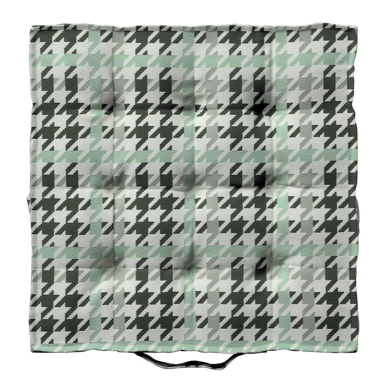 Pagalvėlė Kuba kėdei/ant grindų 40 x 40 x 6 cm kolekcijoje Brooklyn, audinys: 137-77