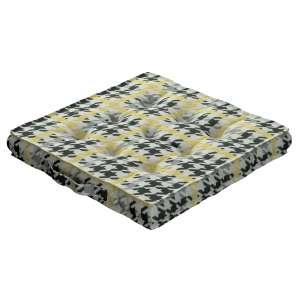 Siedzisko Kuba na krzesło 40x40x6cm w kolekcji Brooklyn, tkanina: 137-79