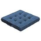 Sitzkissen Jacob mit Handgriff 40 x 40 x 6 cm von der Kollektion Brooklyn, Stoff: 137-88