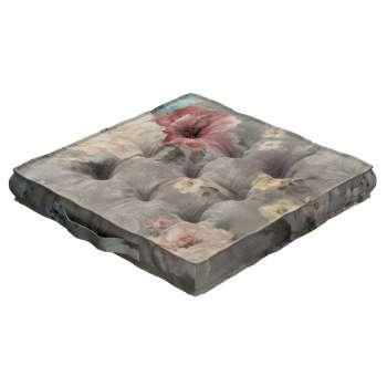 Siedzisko Kuba na krzesło 40x40x6cm w kolekcji Monet, tkanina: 137-81