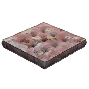 Siedzisko Kuba na krzesło 40x40x6cm w kolekcji Monet, tkanina: 137-83