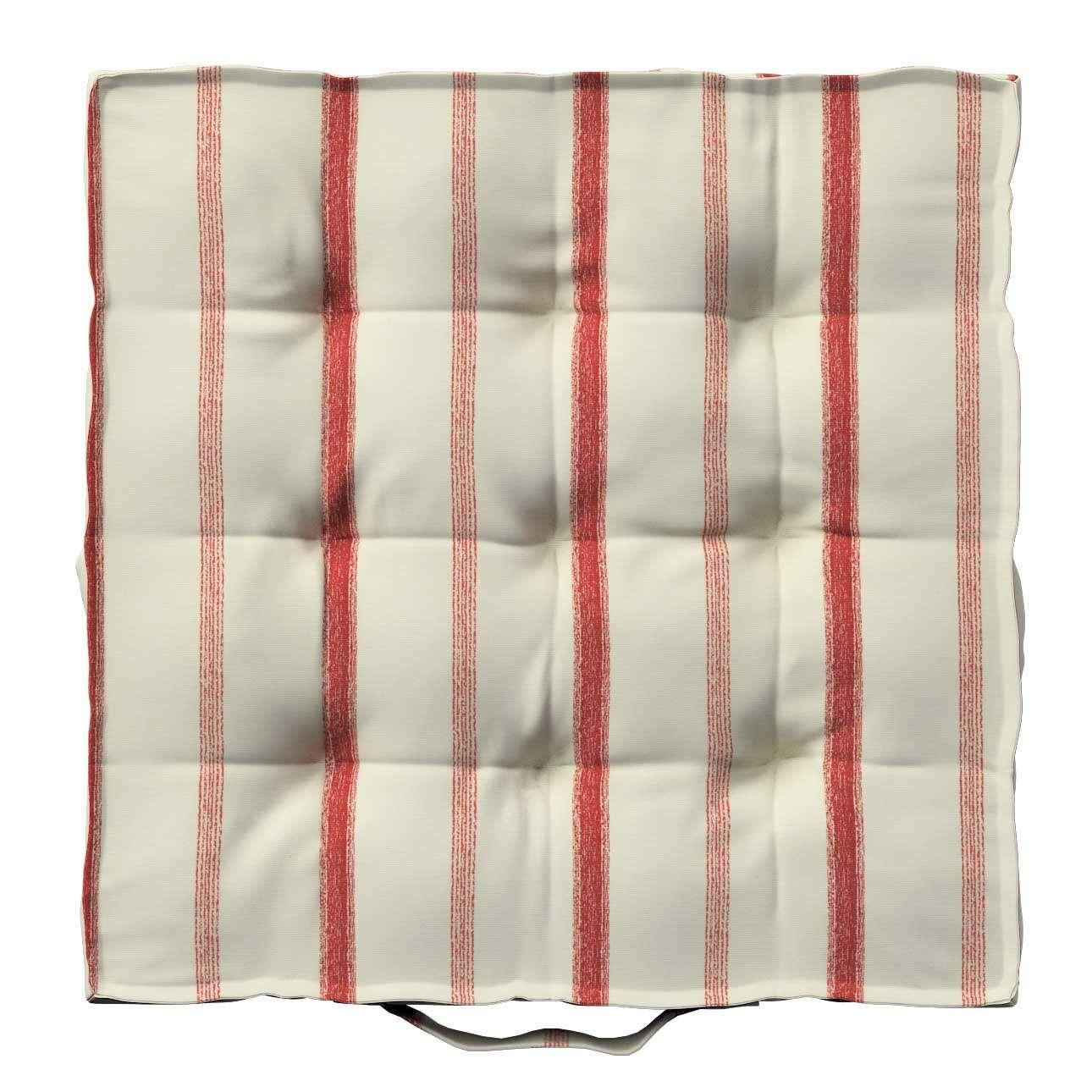Siedzisko Kuba na krzesło 40x40x6cm w kolekcji Avinon, tkanina: 129-15