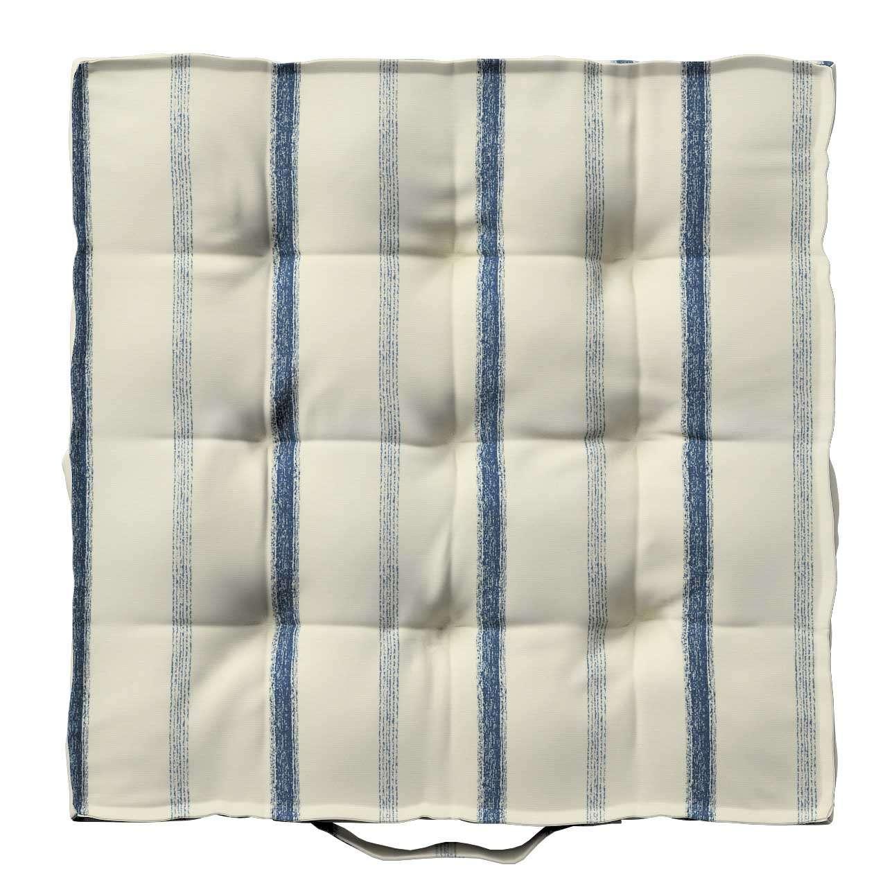 Siedzisko Kuba na krzesło 40x40x6cm w kolekcji Avinon, tkanina: 129-66