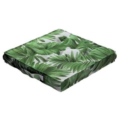 Siedzisko Kuba na krzesło w kolekcji Tropical Island, tkanina: 141-71