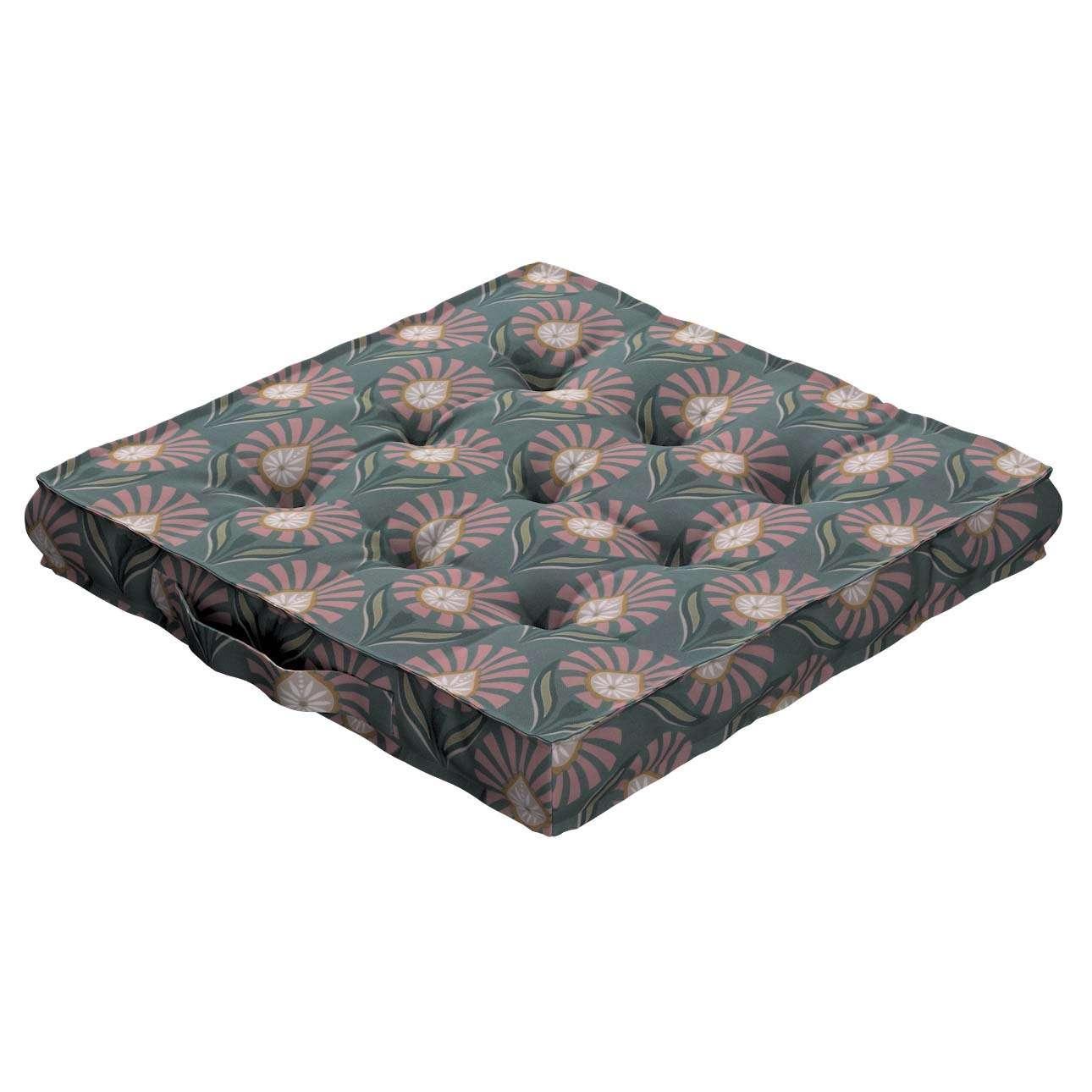 Sedák Kuba s úchytem 40x40x6cm nebo 50x50x10cm v kolekci Gardenia, látka: 142-17