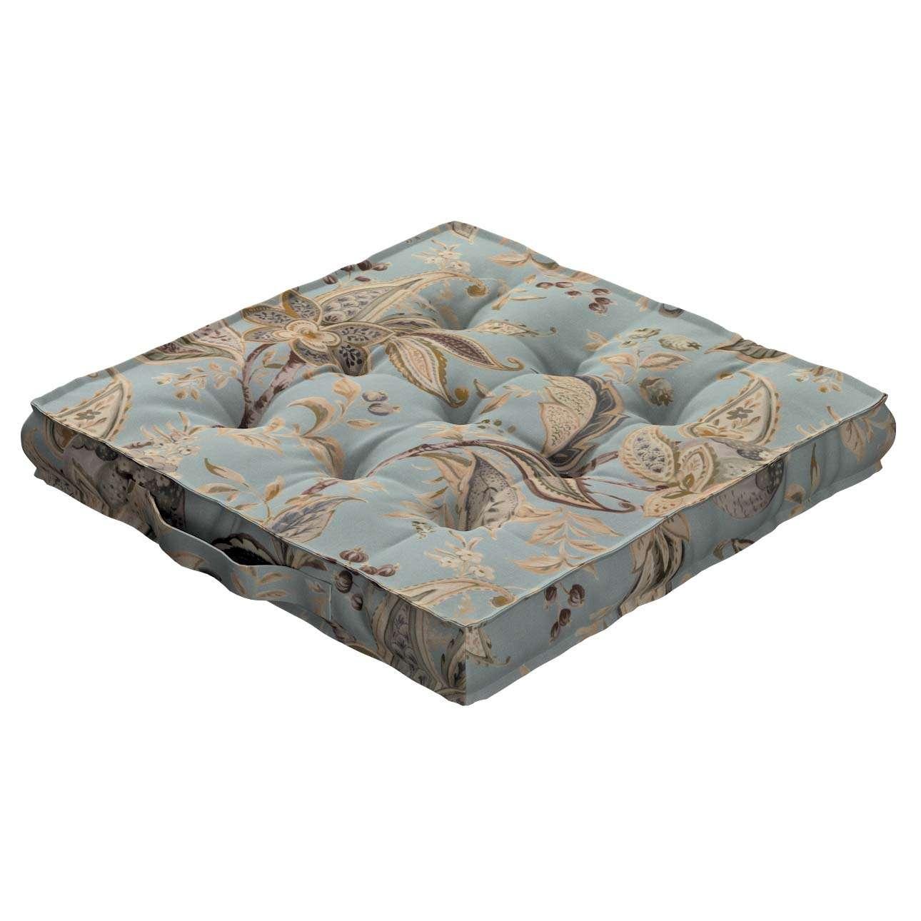 Siedzisko Kuba na krzesło w kolekcji Gardenia, tkanina: 142-18