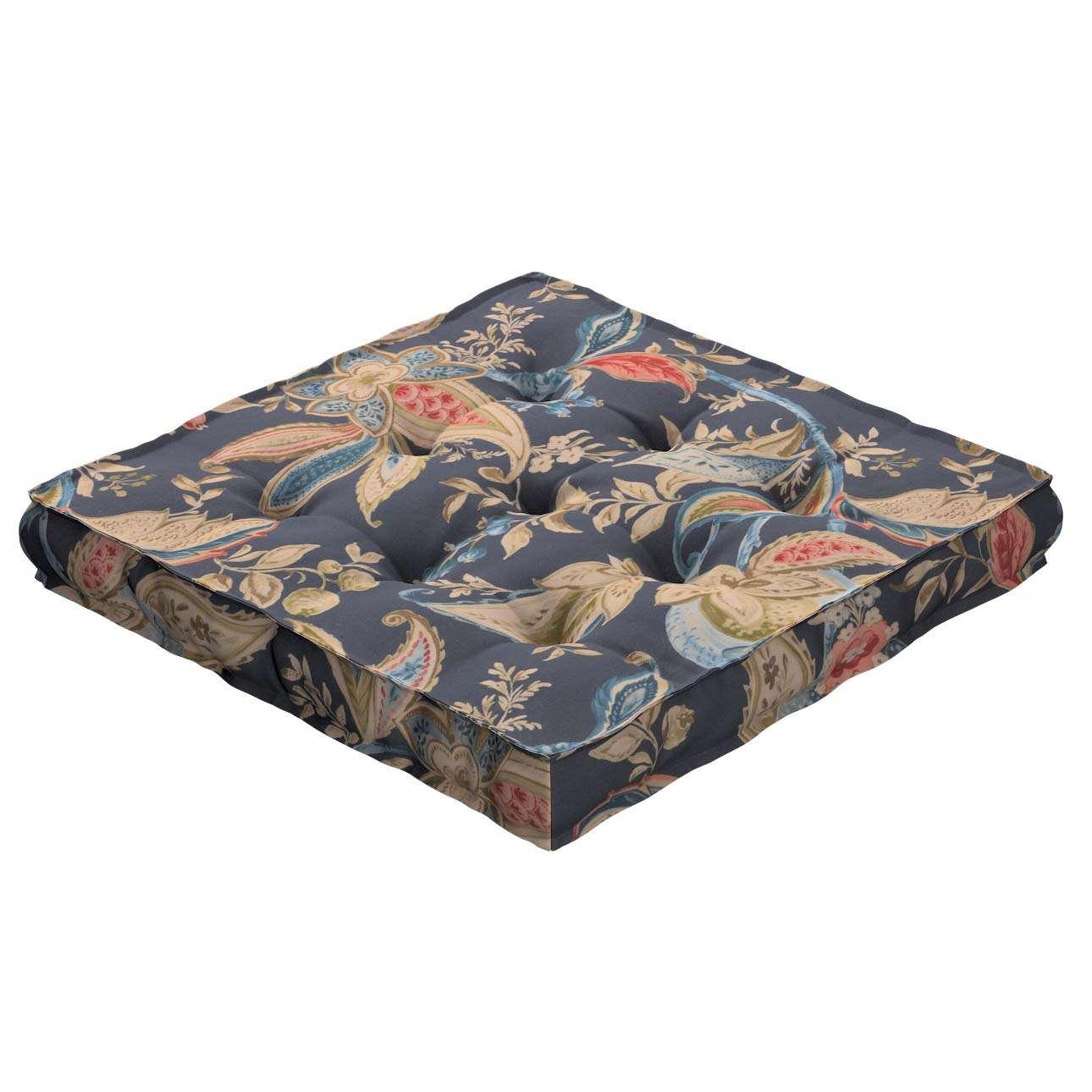 Siedzisko Kuba na krzesło w kolekcji Gardenia, tkanina: 142-19