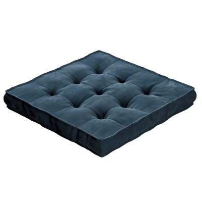 Siedzisko Tomi 704-16 pruski błękit Kolekcja Posh Velvet