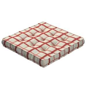 Pagalvėlė Kuba kėdei/ant grindų 40 x 40 x 6 cm kolekcijoje Avinon, audinys: 131-15