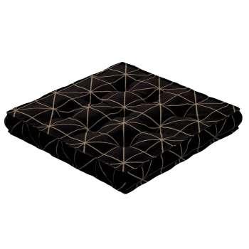 Sedák Kuba s úchytem 40x40x6cm nebo 50x50x10cm v kolekci Black & White, látka: 142-55