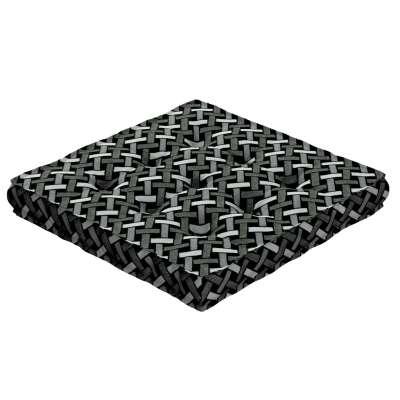 Sitzkissen Jacob mit Handgriff 142-87 schwarz-weiß Kollektion Black & White