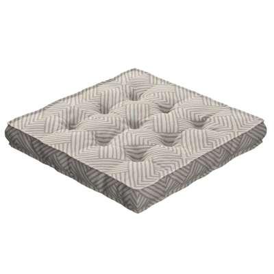 Sedák Kuba s úchytem 40x40x6cm nebo 50x50x10cm 143-44 vzor v odstínech béžové Kolekce Sunny