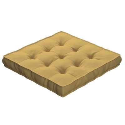 Siedzisko Kuba na krzesło 702-41 zgaszony żółty Kolekcja Cotton Panama