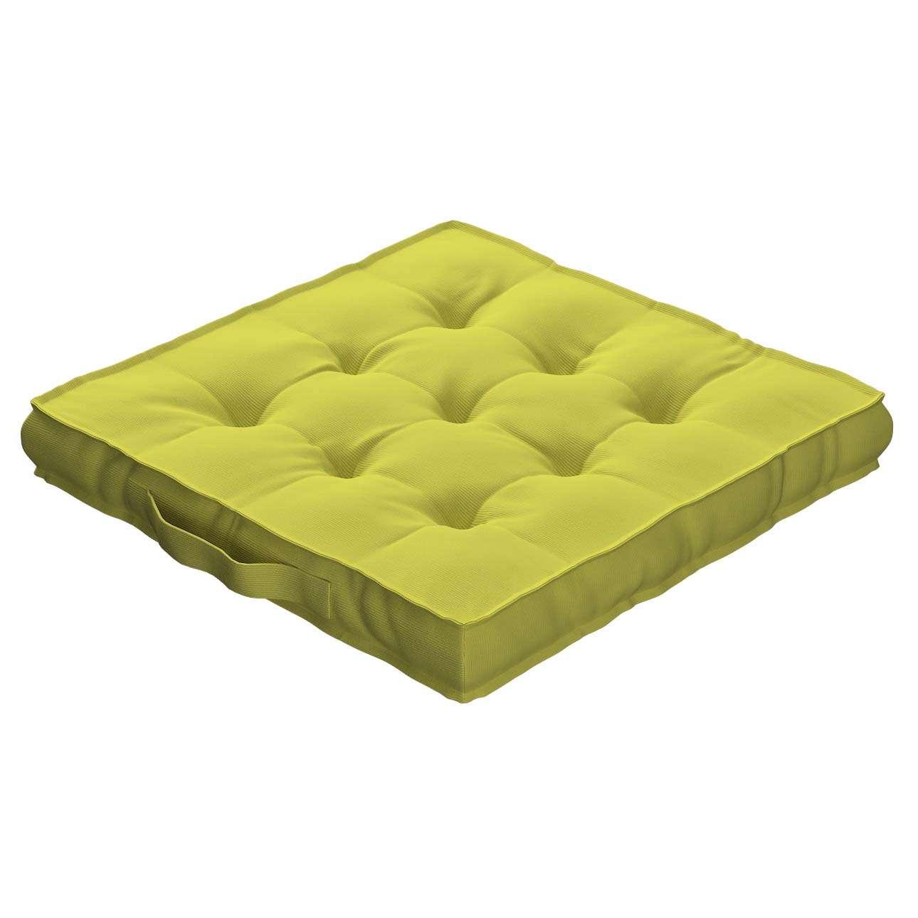 Siedzisko Kuba na krzesło 40x40x6cm w kolekcji Jupiter, tkanina: 127-50