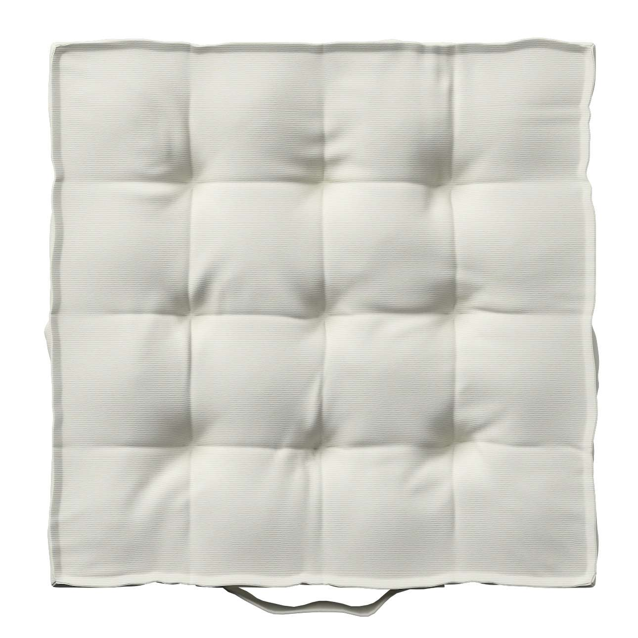 Pagalvėlė Kuba kėdei/ant grindų 40 x 40 x 6 cm kolekcijoje Jupiter, audinys: 127-00