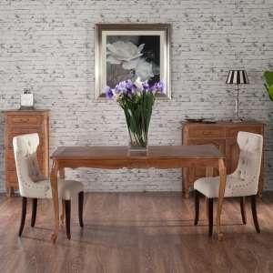 Stół Dorothee 160x90x79cm, natural 160x90x79cm