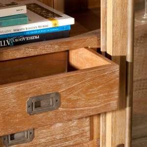 Witryna Chantal z 6 szufladami + drzwi 115x40x159cm