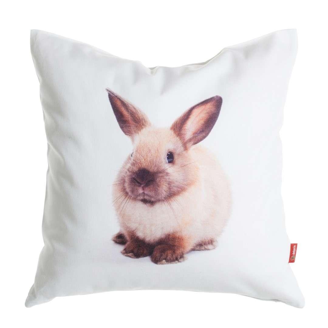 Bunny Print Cushion Cover 45x45 cm