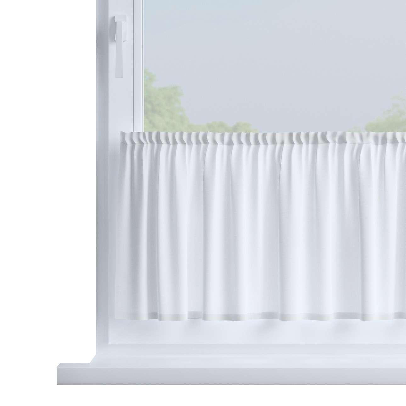 Bistro záclonka jednoduchá na metry výška 40cm+2,5cm volánek v kolekci Loneta, látka: 133-02