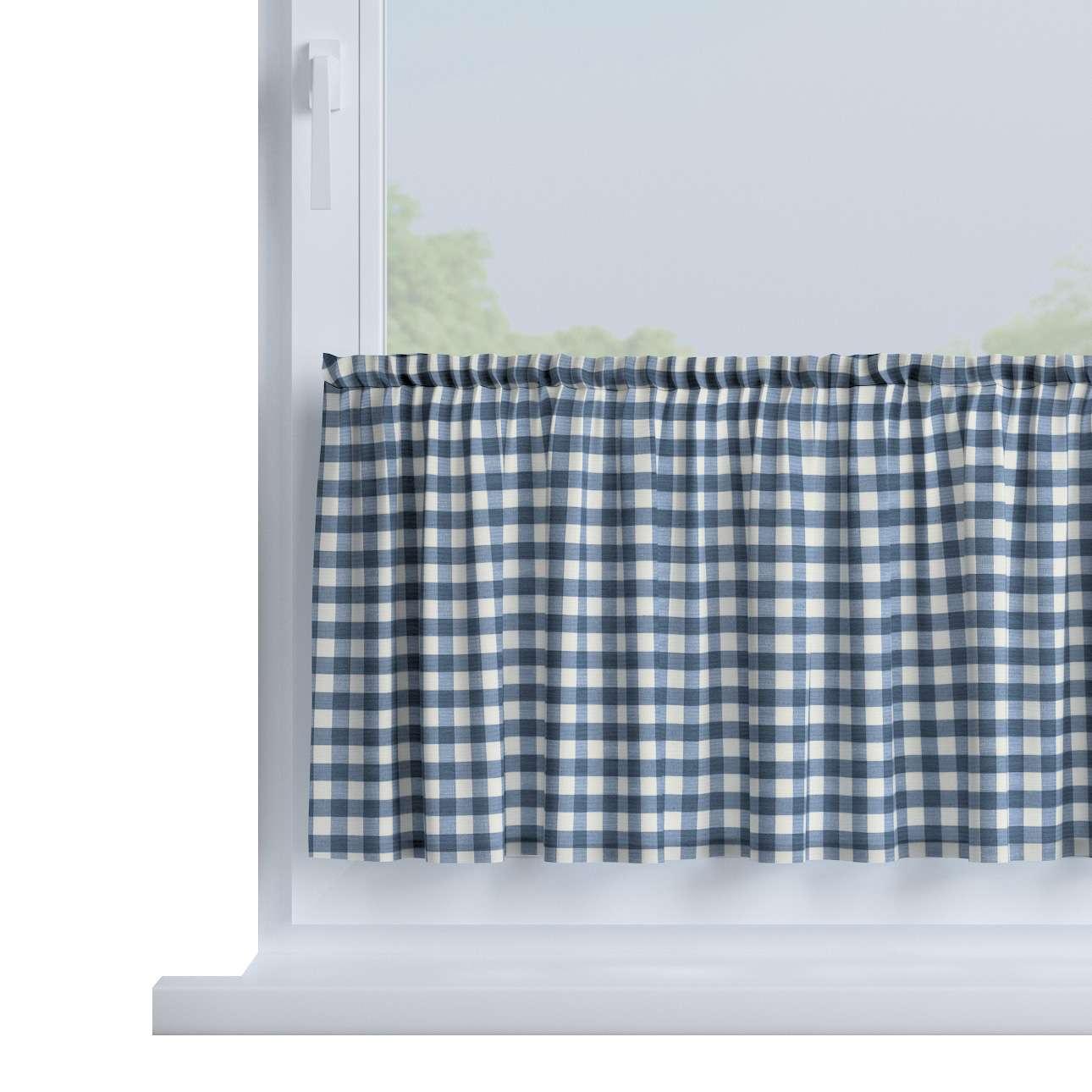Zazdrostka prosta na metry wys. 40cm+2,5cm grzywka w kolekcji Quadro, tkanina: 136-01