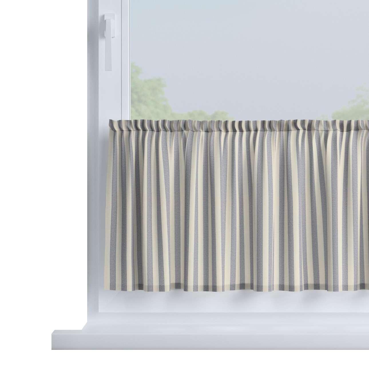 Zazdrostka prosta na metry wys. 40cm+2,5cm grzywka w kolekcji Quadro, tkanina: 136-02