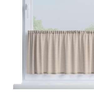 Zazdrostka prosta na metry wys. 40cm+2,5cm grzywka w kolekcji Quadro, tkanina: 136-05