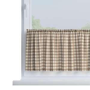 Zazdrostka prosta na metry wys. 40cm+2,5cm grzywka w kolekcji Quadro, tkanina: 136-06