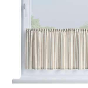Bistro záclonka jednoduchá na metry výška 40cm+2,5cm volánek v kolekci Quadro, látka: 136-07