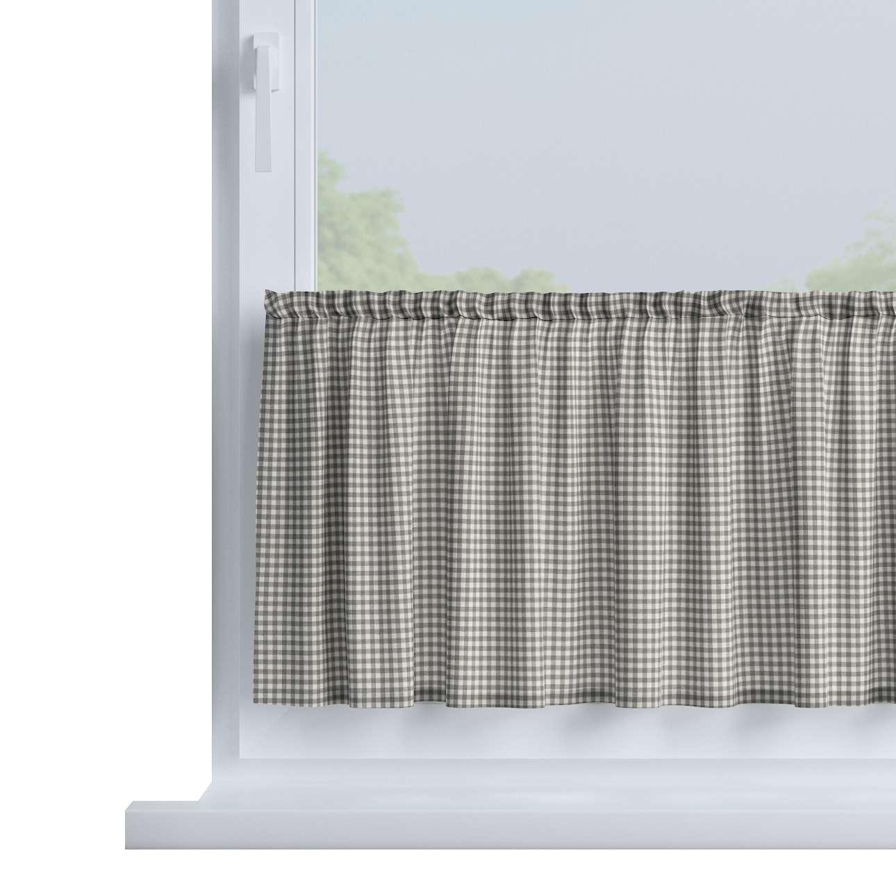Zazdrostka prosta na metry wys. 40cm+2,5cm grzywka w kolekcji Quadro, tkanina: 136-10