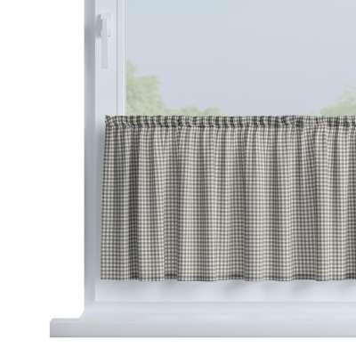 Zazdrostka prosta na metry 136-10 szaro biała krateczka (0,5x0,5cm) Kolekcja Quadro