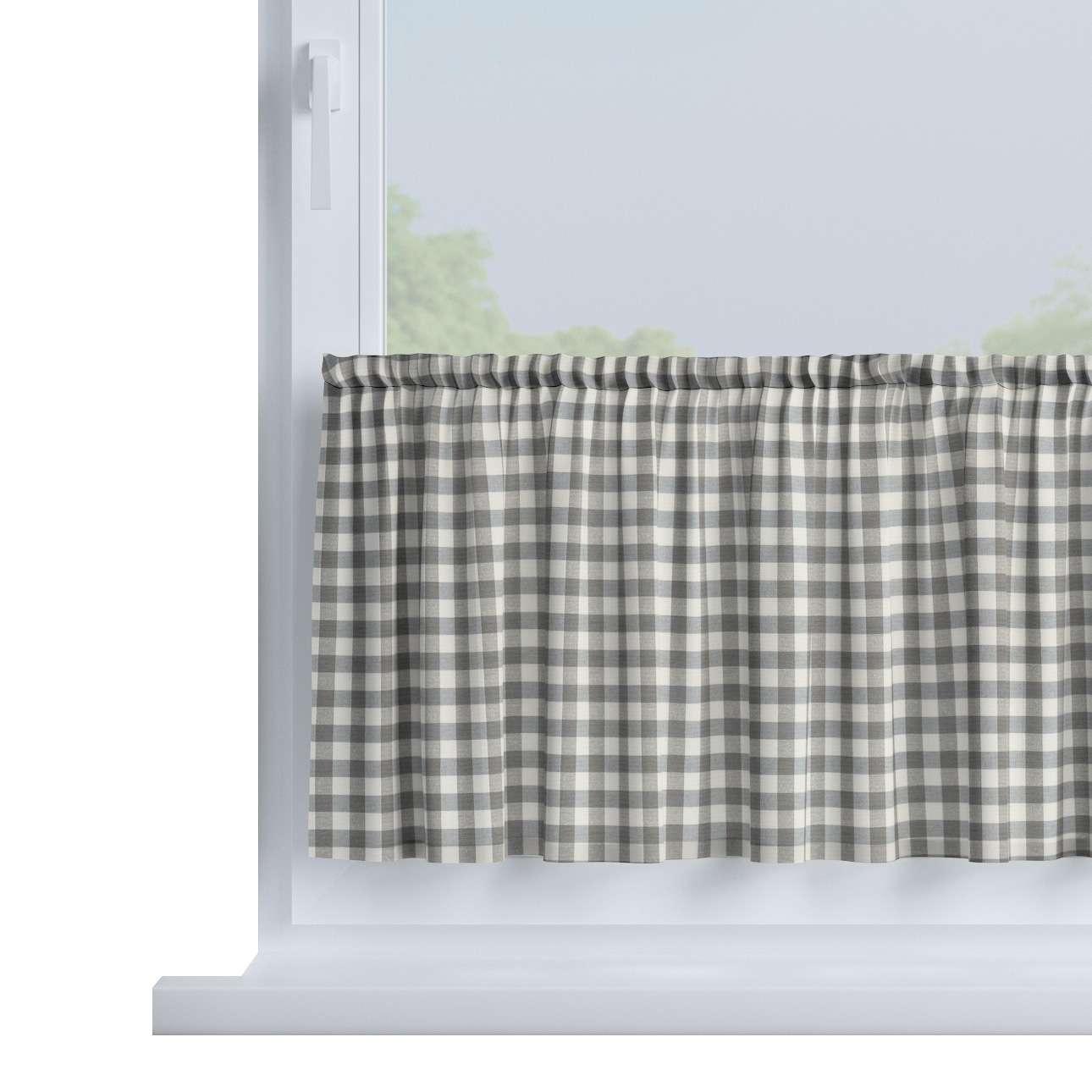 Vitrážka jednoduchá, metráž V kolekcii Quadro, tkanina: 136-11