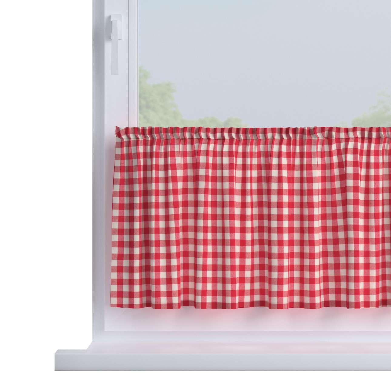 Zazdrostka prosta na metry wys. 40cm+2,5cm grzywka w kolekcji Quadro, tkanina: 136-16