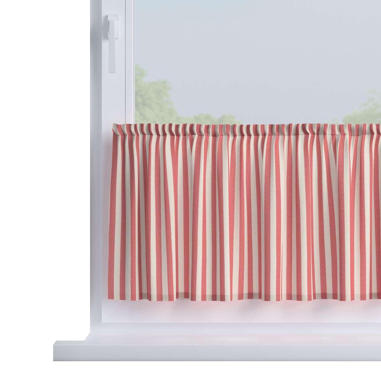 Zazdrostka prosta na metry wys. 40cm+2,5cm grzywka w kolekcji Quadro, tkanina: 136-17