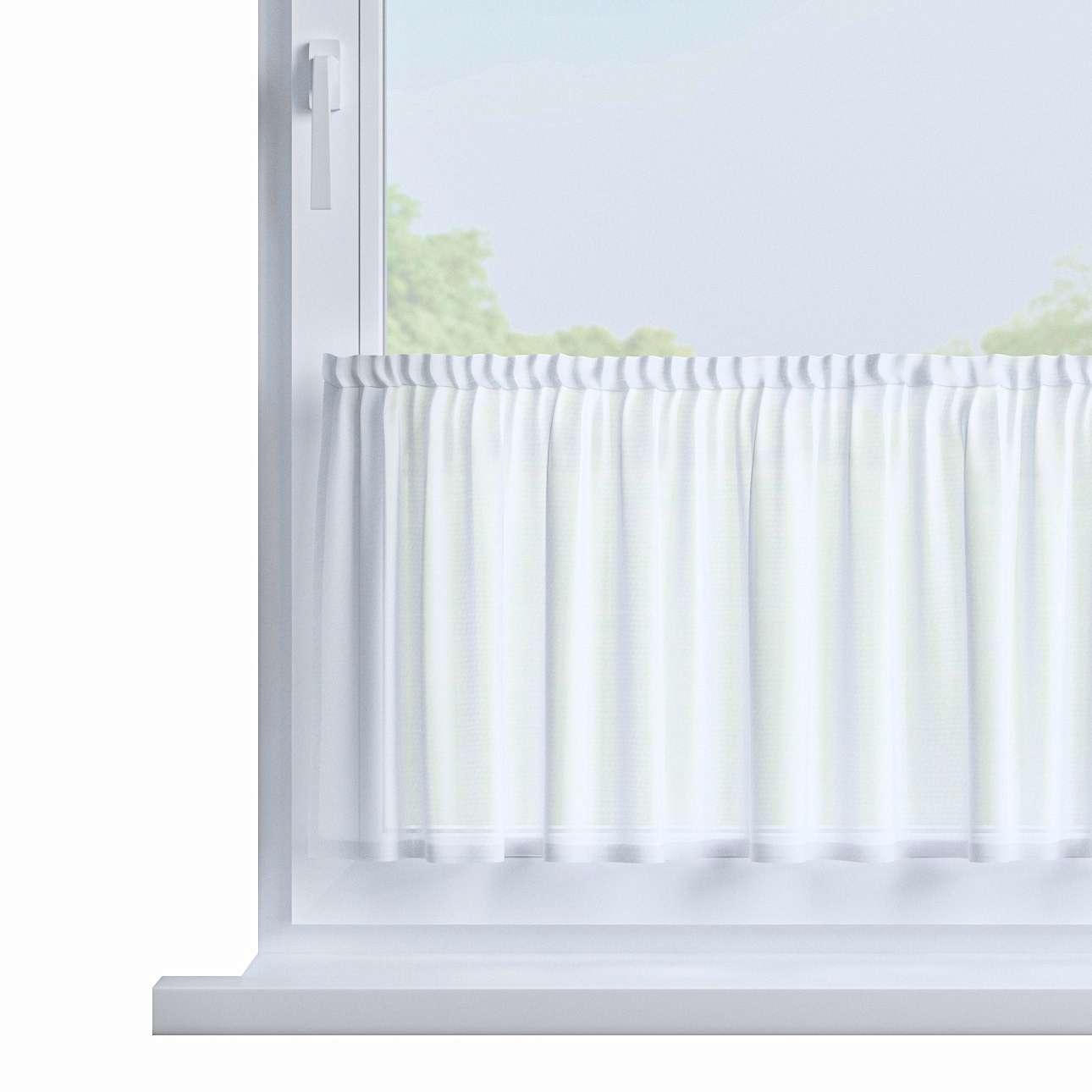 Zazdrostka prosta na metry wys. 40cm+2,5cm grzywka w kolekcji Woale, tkanina: 900-00