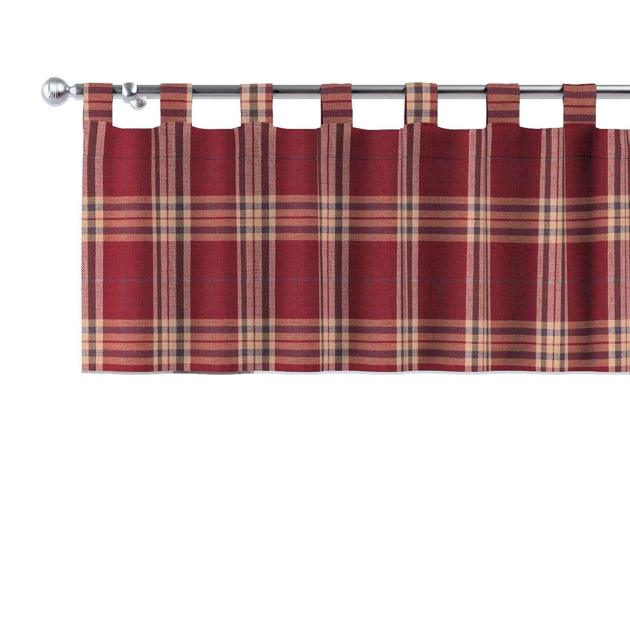 Gardinkappa med hällor 130x40cm i kollektionen Mirella, Tyg: 141-06