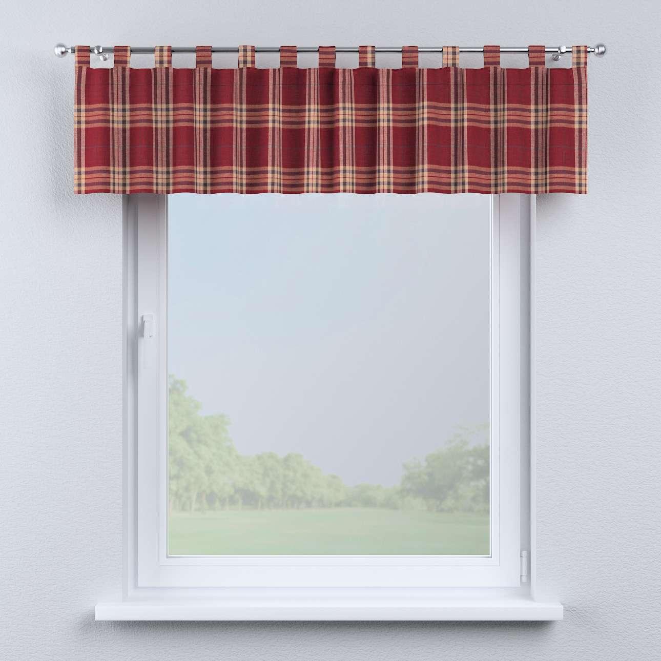 Krátky záves na pútkach V kolekcii Londres, tkanina: 141-06
