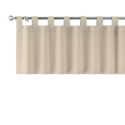 Kurzgardine mit Schlaufen von der Kollektion Cotton Panama, Stoff: 702-01