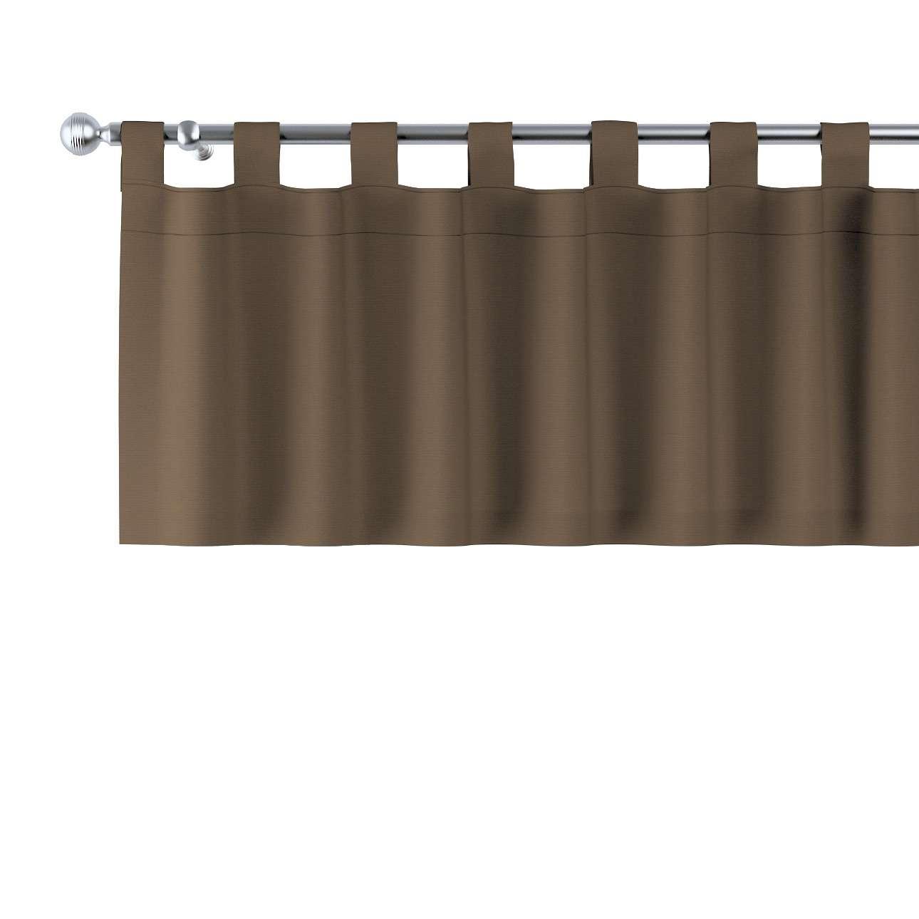 Gardinkappa med hällor i kollektionen Panama Cotton, Tyg: 702-02