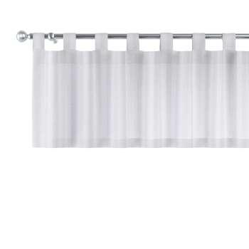 Gardinkappa med hällor 130x40cm i kollektionen Linne, Tyg: 392-03